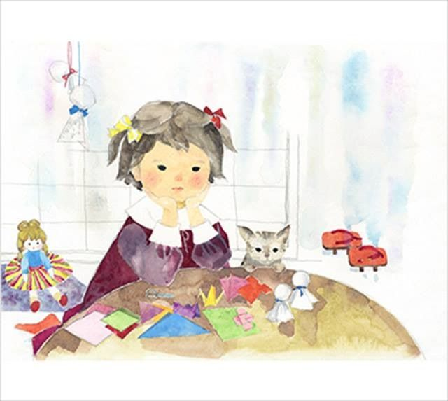 Chihiro Iwasaki With Images Watercolor Books Art For Kids