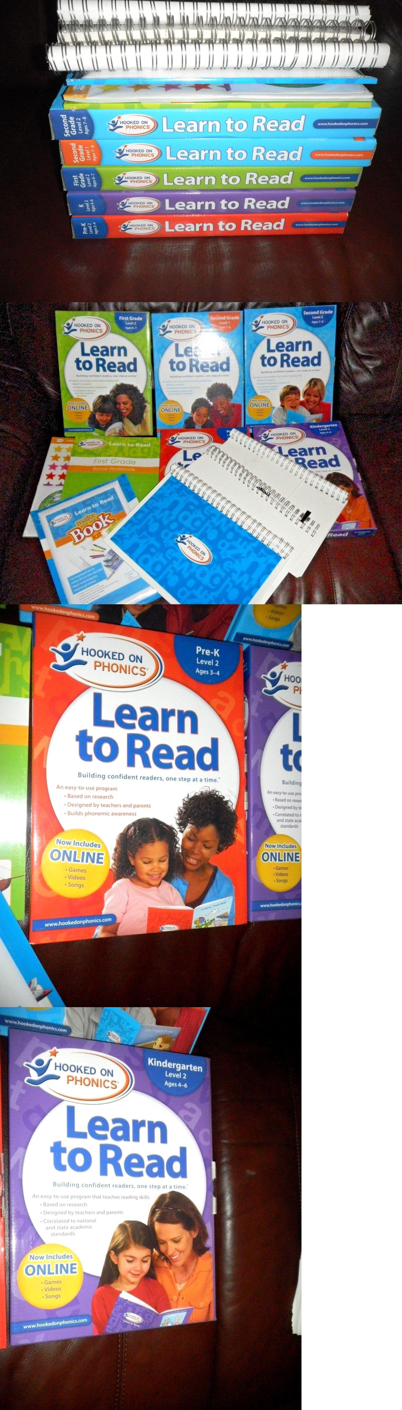 Elementary School 102956 Hooked On Phonics Learn To Read Pre K K