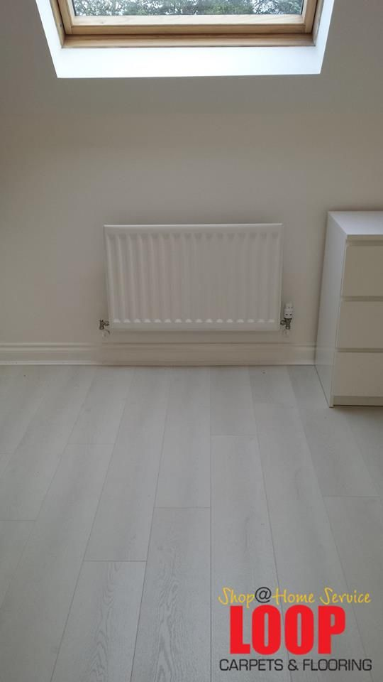 Modern Exquisit White Laminate 8mm Clic Flooring By Loop Carpets Home Service