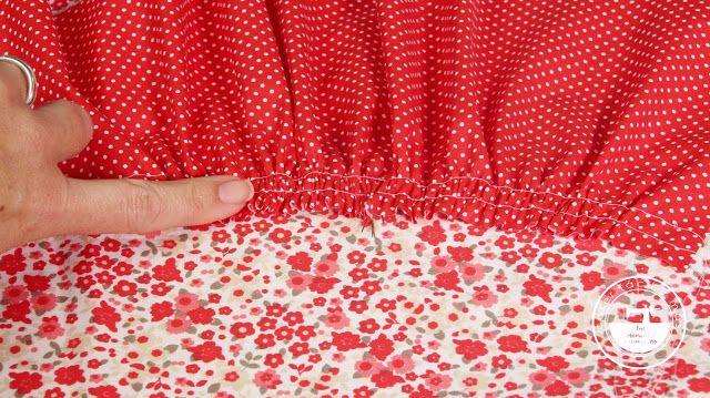 """El blog de """"Coser fácil y más by Menudo numerito"""" - Costura creativa: Trucos de costura: cómo fruncir en 2 minutos"""