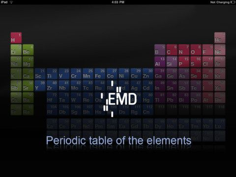 Emd pte ipad free app free apps pinterest free apps and periodic table emd pte ipad free app urtaz Images