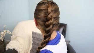 French Twist into Rope Braid