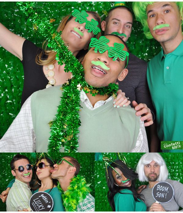 Photos Denver S St Patrick S Day Parade: #photobooth Prop Ideas : The Confetti Booth