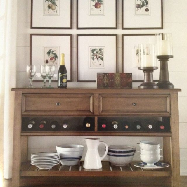 Small Sideboard Styling