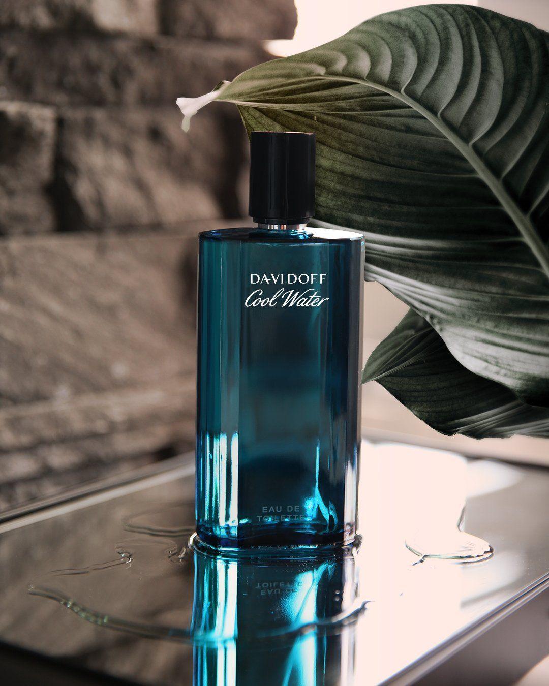 عطر دافيدوف كول واتر ماء تواليت Davidoff Cool Water Eau De Toilette عطر العطر Perfume Bottles Perfume Eau De Toilette