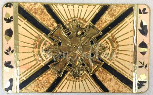 Art-Deco-Stencils---Jumbo-Gold-ATC---Gwen-Lafleur