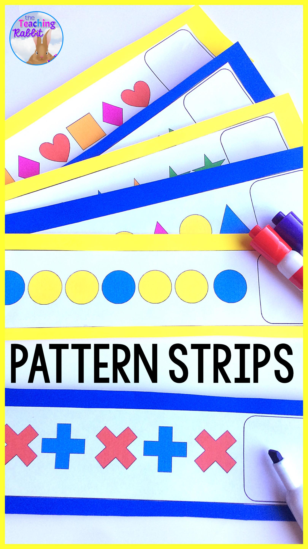 Pattern Strips Center
