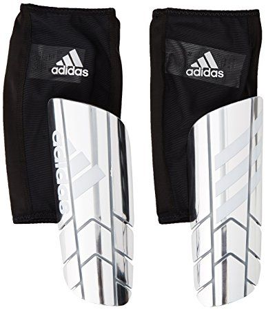 Adidas Performance Ghost Pro Shin Guard Silver Met White Black X Small Shin Guards Compression Sleeves Adidas
