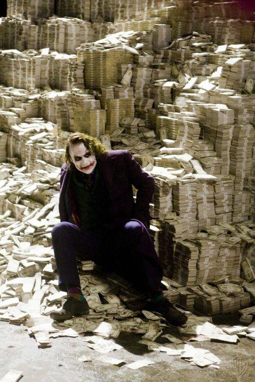 Image result for big pile of money joker