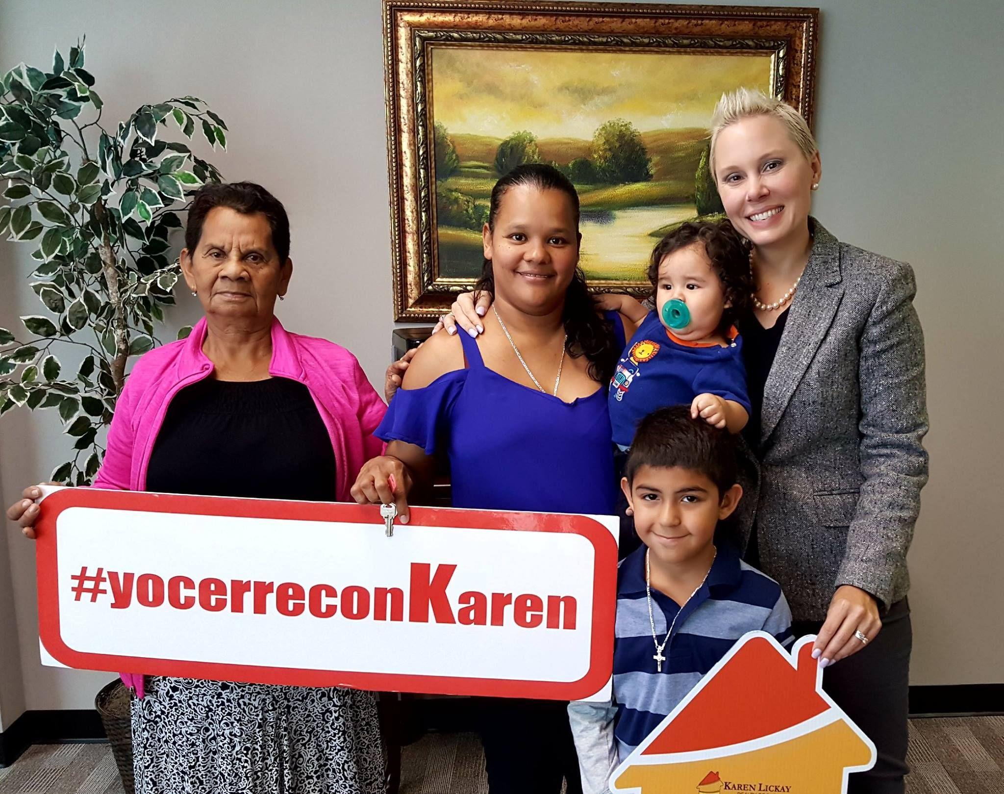 Karen lickay realty group thanks the ortiz family for