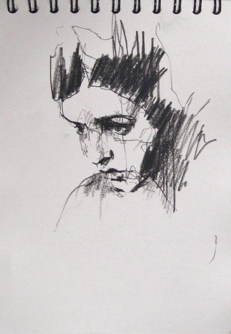9698d6df0229320519a97f7f0dd547a4 jpg 736x1066 · female face drawingpencil artabstract
