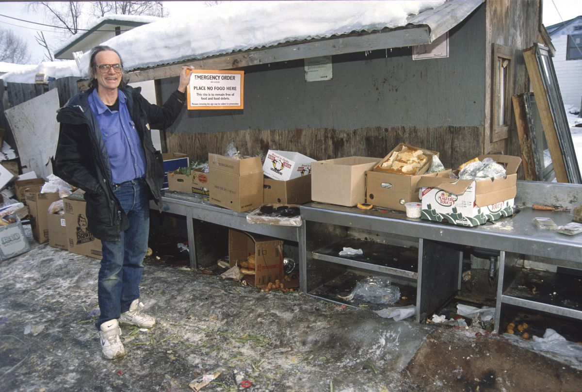 How Michael O Callaghan Went From Anchorage Activist To Portland S Homeless Mayoral Candidate Anchorage Portland City Homeless