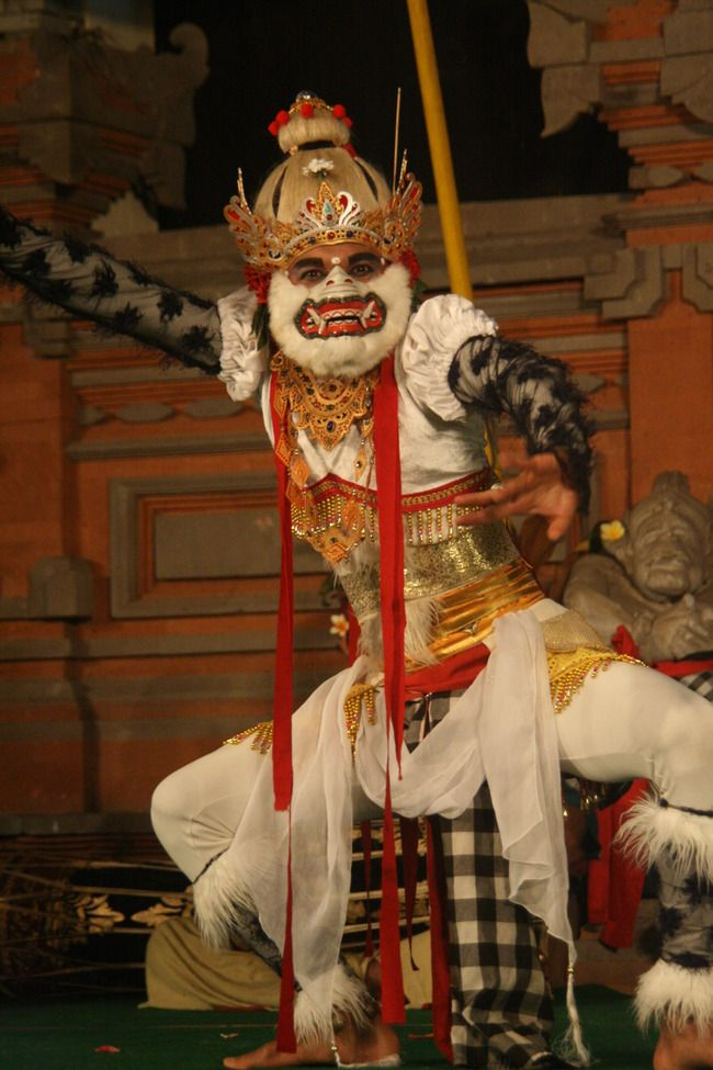 Semara Ratih in Ubud, Bali: While in Ubud, among the many wonderful dance performances--there is a different one each night of the week.