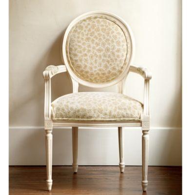 Louis XVI Oval Back Armchair from Ballard Designs