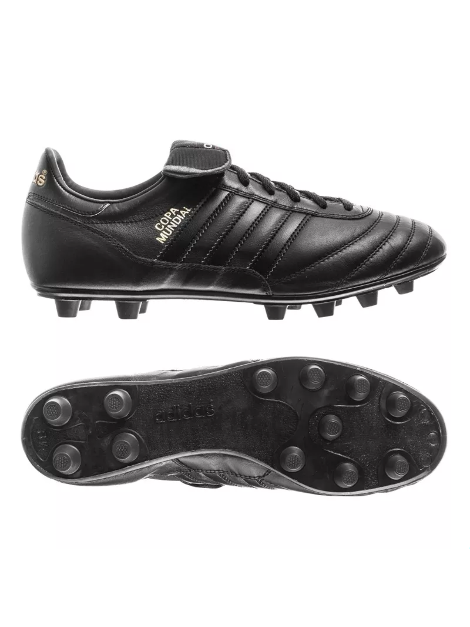 best sneakers 033e8 58175 Adidas Copa Mundial in black on black. Wear like iron and feel like  butter... Adidas Copa Mundial Blackout Edition
