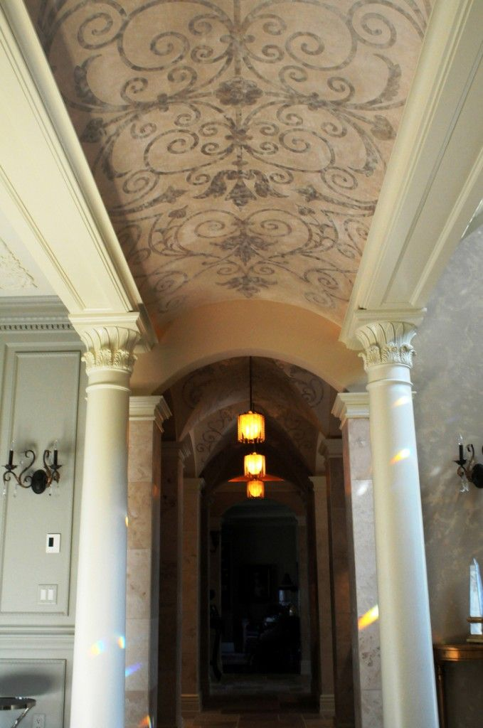 9 residential barrel vault ceiling designs by ceiltrim inc for Barrel ceiling ideas