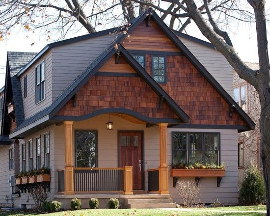 Best Shingles On Gable End Exterior Detail Contemporary 400 x 300
