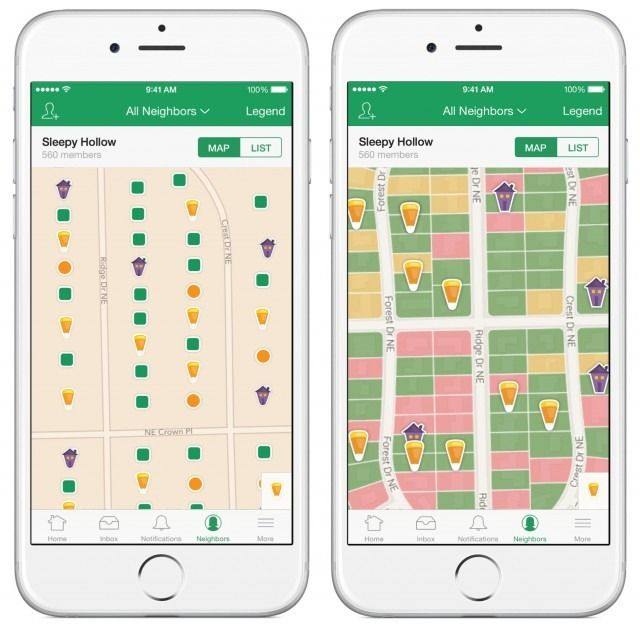Nextdoor's treat map shows you where to find candy on