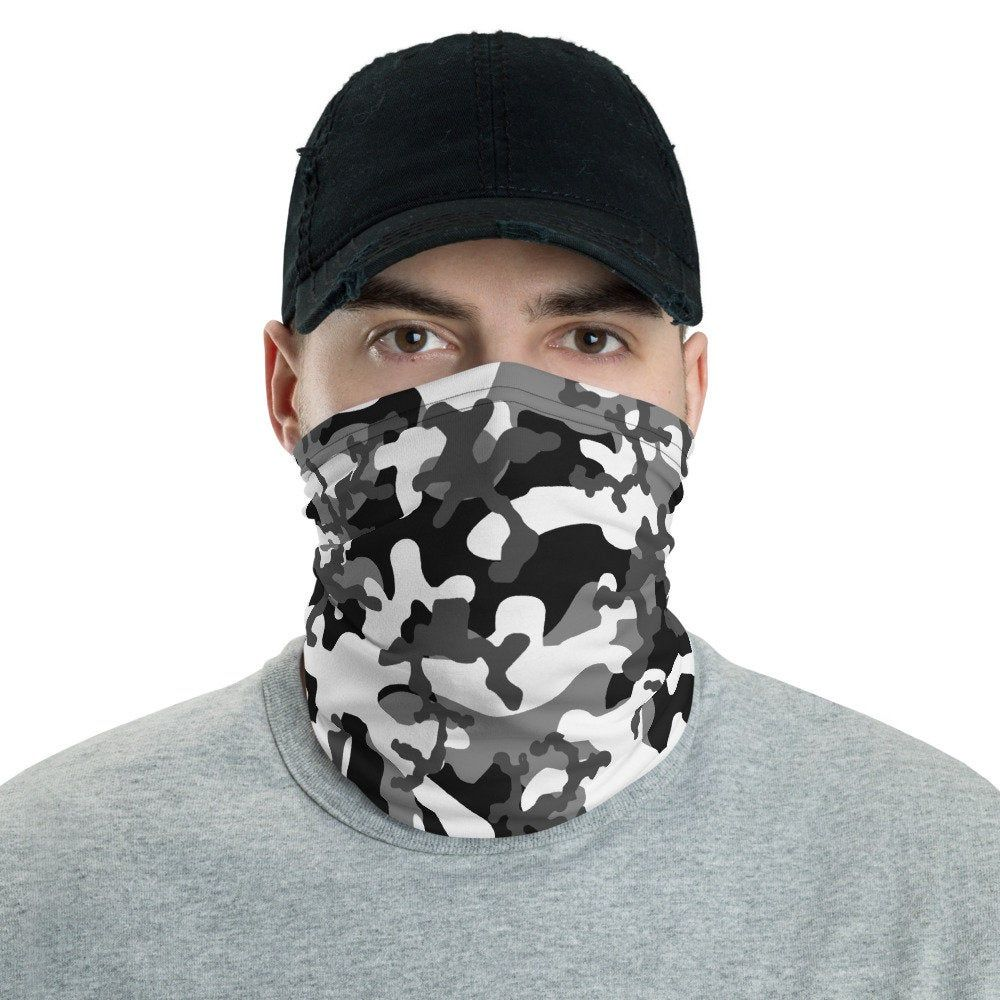 Neck Gaiter UNISEX Men & Women Camouflage Washable Etsy