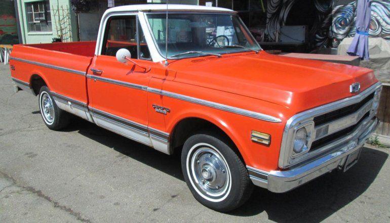 1970 Chevy 1970 Chevrolet K10 Short Bed 4x4 C K Pickup 1500