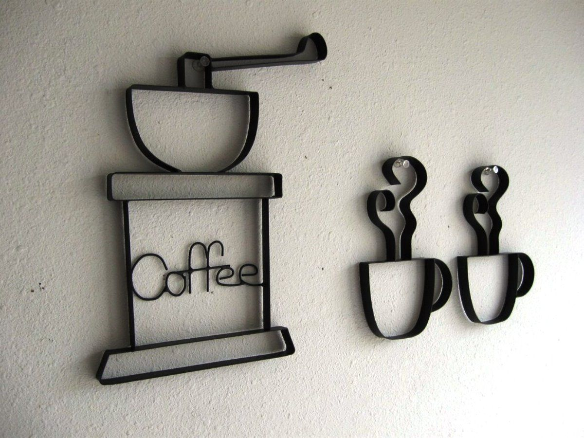 Kitchen metal wall decor - Metal Wall Decorations