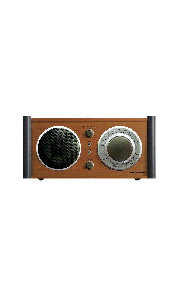59 99 Crosley Audiophile Am Fm Radio Receiver With Analog Tuner
