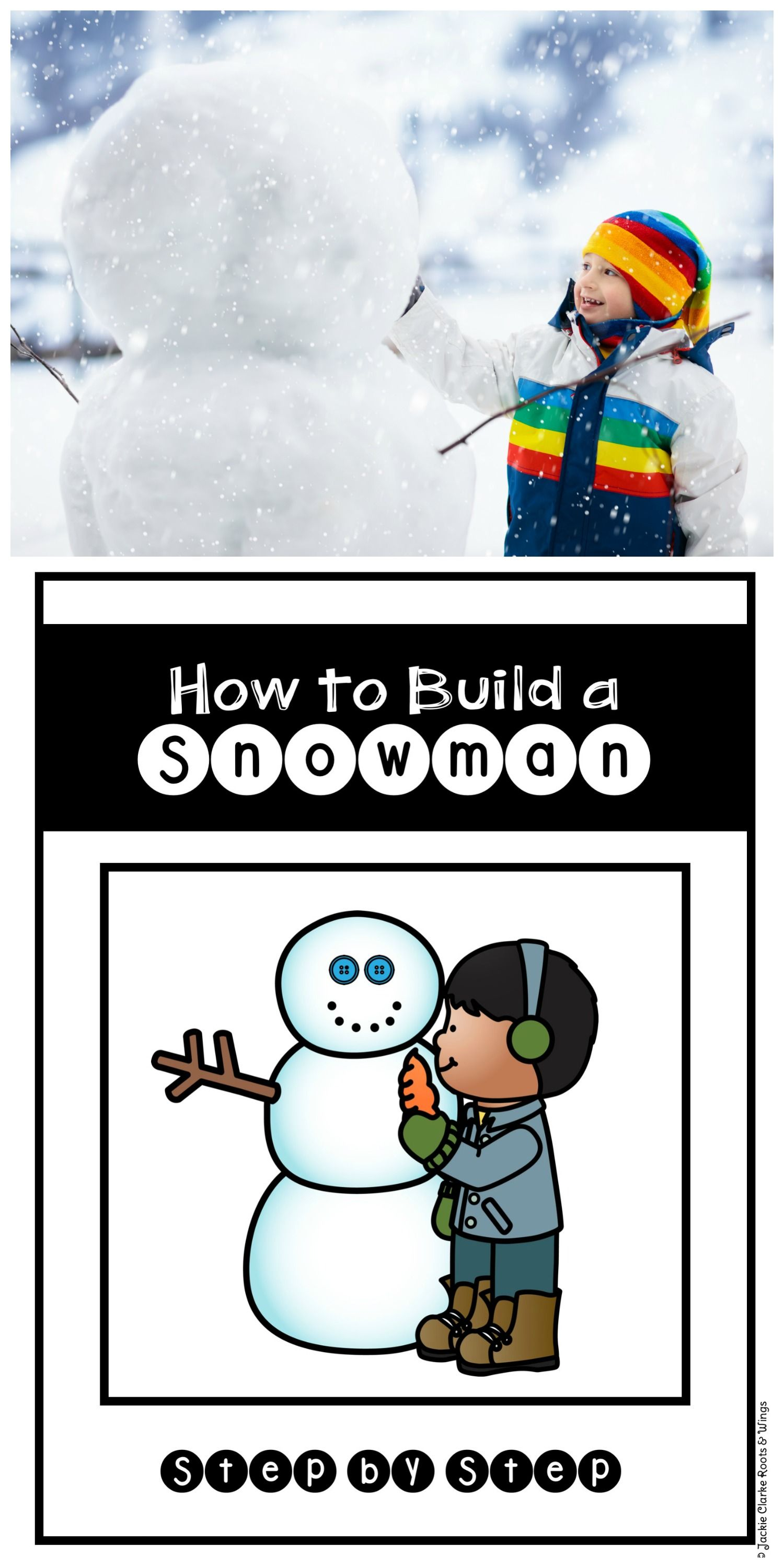 How To Procedural Writing How To Build A Snowman