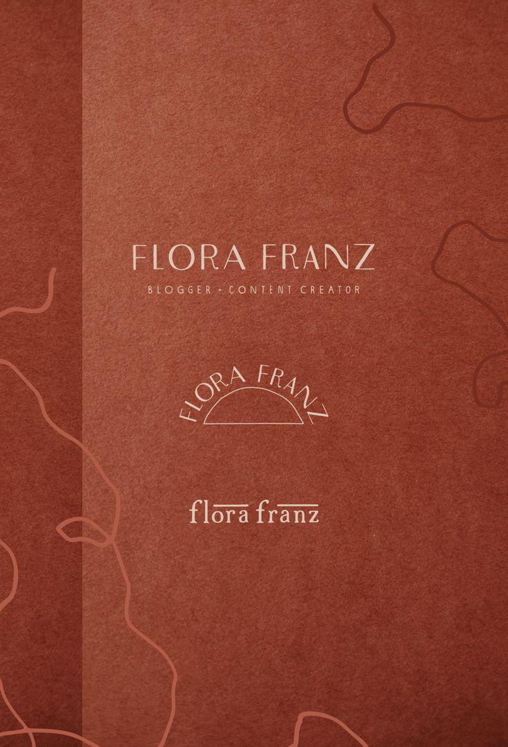 Flora Franz Branding Identity Concept and Logo Design by