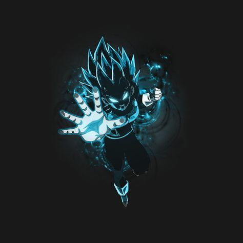 2f12a7ad Check out this awesome 'Dragon Ball Super Vegeta Super Saiyan Blue' design  on @TeePublic! - Visit now for 3D Dragon Ball Z compression shirts now on  sale!