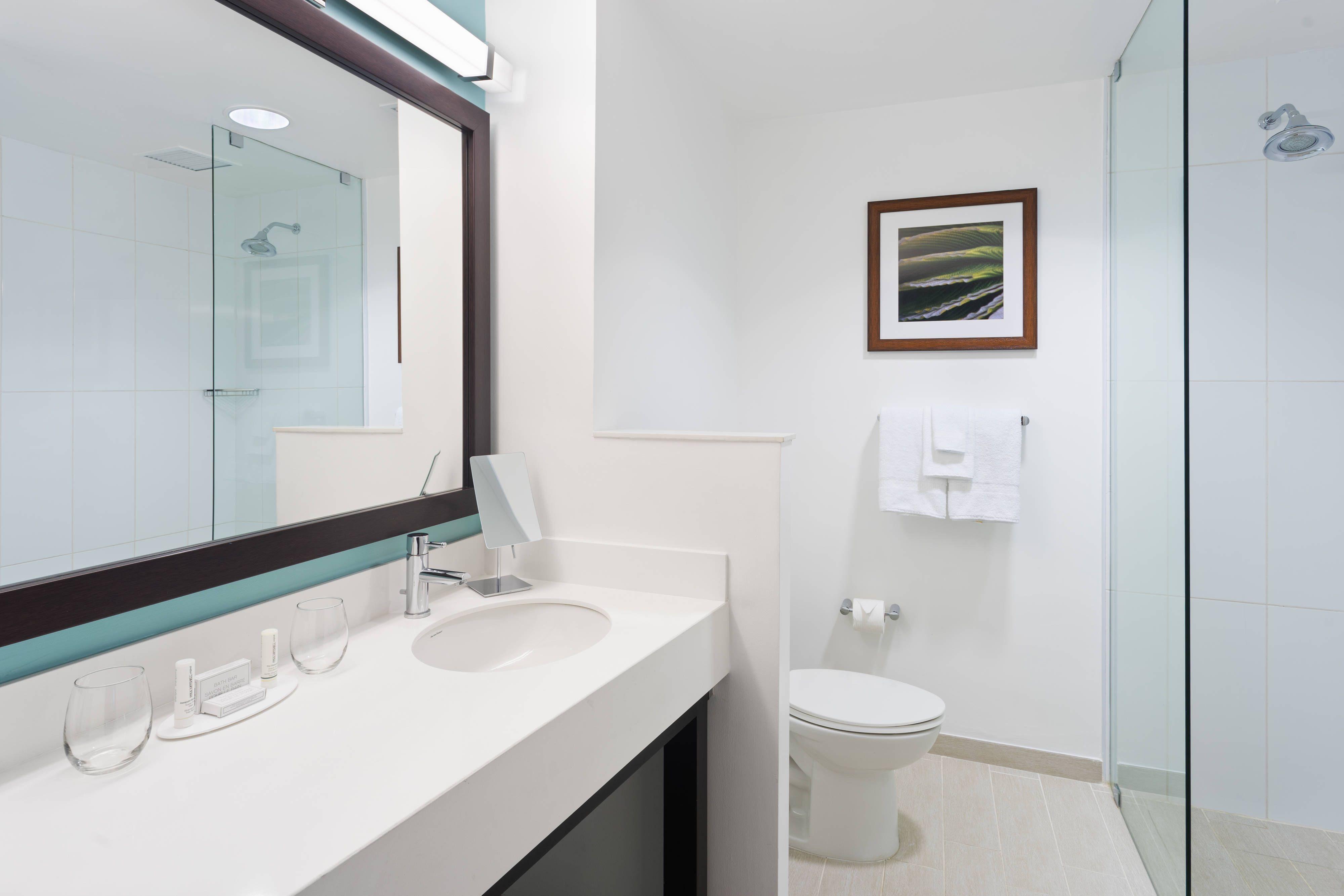 Courtyard Kingston Jamaica Guest Bathroom Traveling Beautiful Rooms Guest Bathroom Framed Bathroom Mirror Courtyard