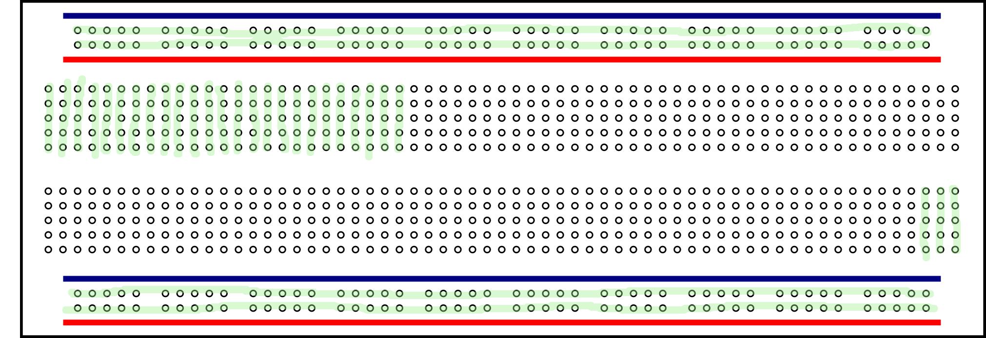 Breadboard Wiring Diagram:  Arduino,Design