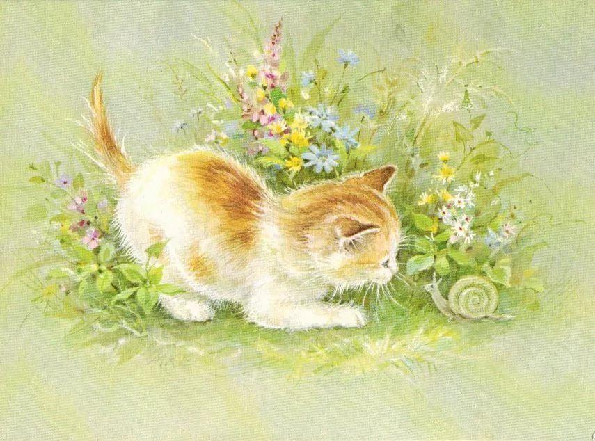 Фото открытки рисованные