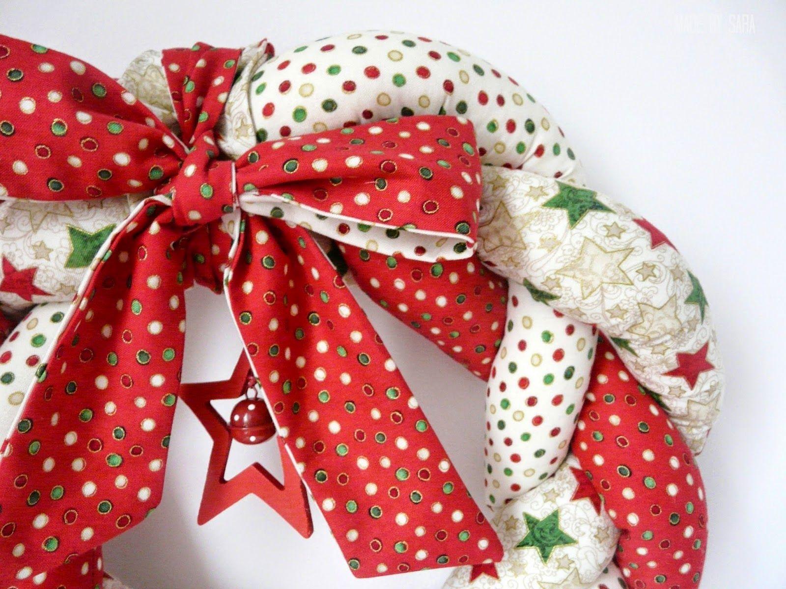 Photo of Braided Christmas wreath – a tutorial