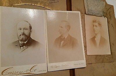 Antique Photo Album and Antique Pictures