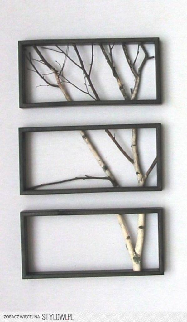 40 DIY Branch Art Installations that are Borderline Genius   Pinterest
