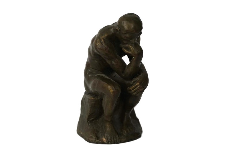 Auguste Rodin The Thinker 1879 1889 Bronze Life Size The Main Thing Is To Be Moved To Love To Hope To T Rodin The Thinker Rodin Sculpture Auguste Rodin