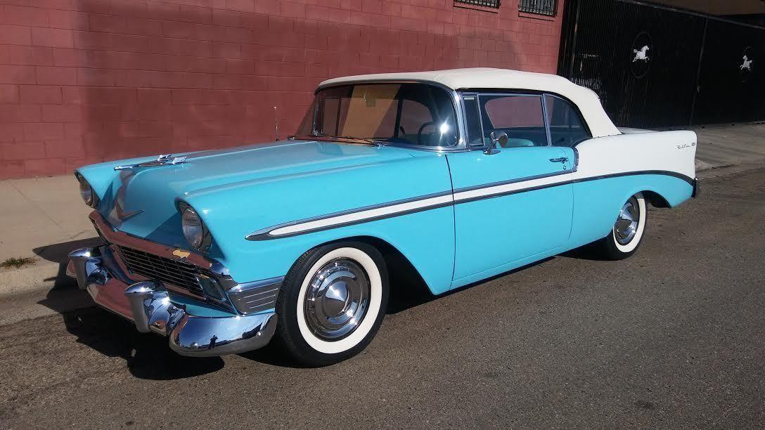 1956 Chevrolet Bel Air 150 210 Convertible 2 Door Chevrolet Bel