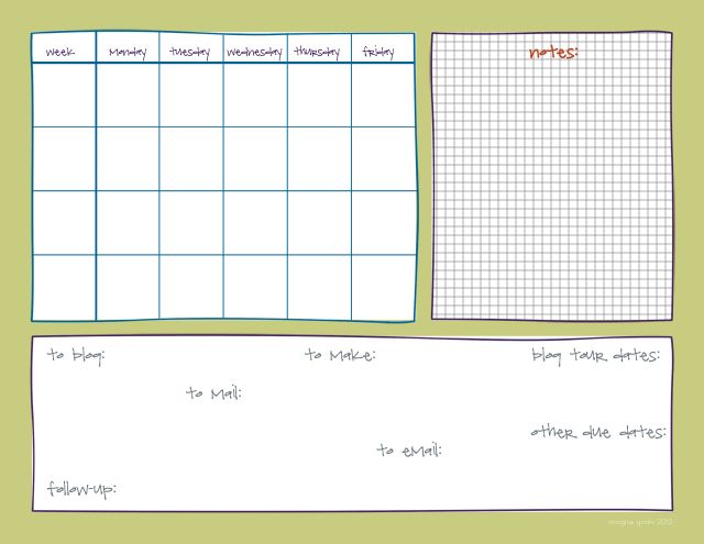 imagine gnats printable the calendar that keeps me sane Hugo\u0027s