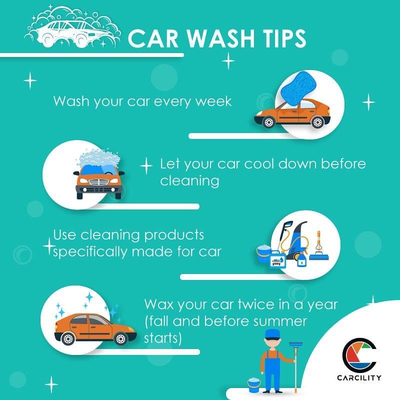 Car Wash Tips Car Wash Tips Car Wash Car Wax