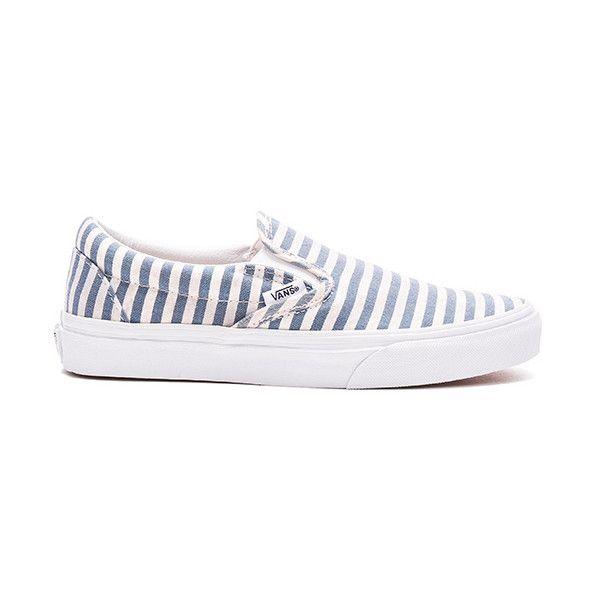 Vans Stripes Classic Slip-On ($56