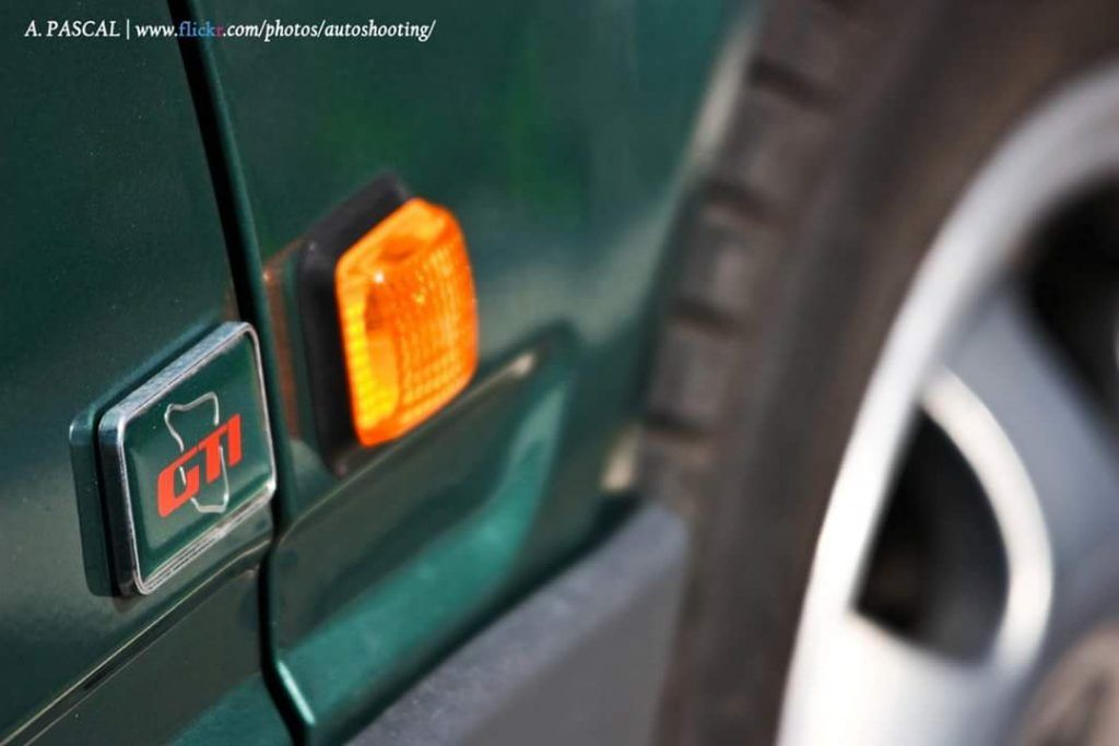 Peugeot 309 GTI Goodwood wheel
