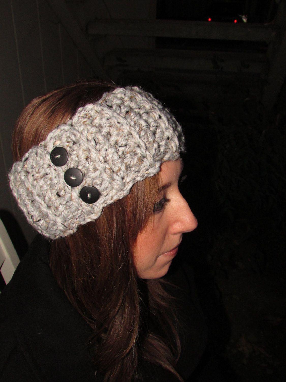 Crochet headband | Crocheting | Pinterest | Banda, Gorros y Tejido