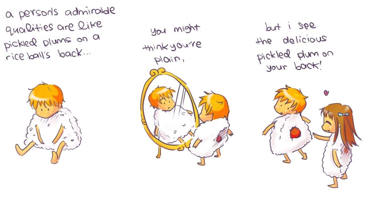 You Ve Got A Plum On Your Back Fruits Basket Anime Fruits Basket Manga Fruits Basket Quotes