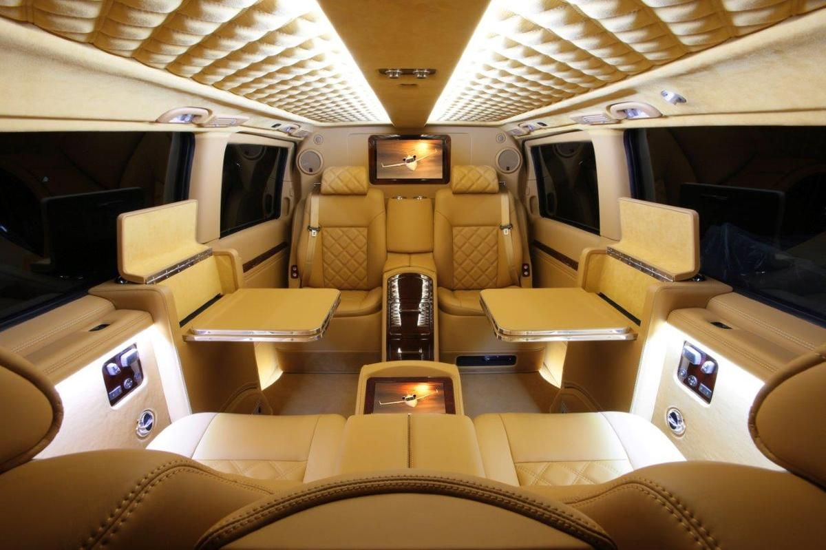 Move Over Private Jets Check Out This Luxury 39 Private Van