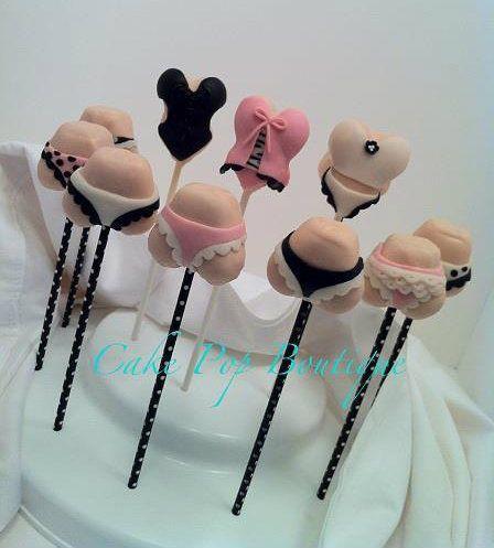 bridal shower sexy bridal shower cake pops