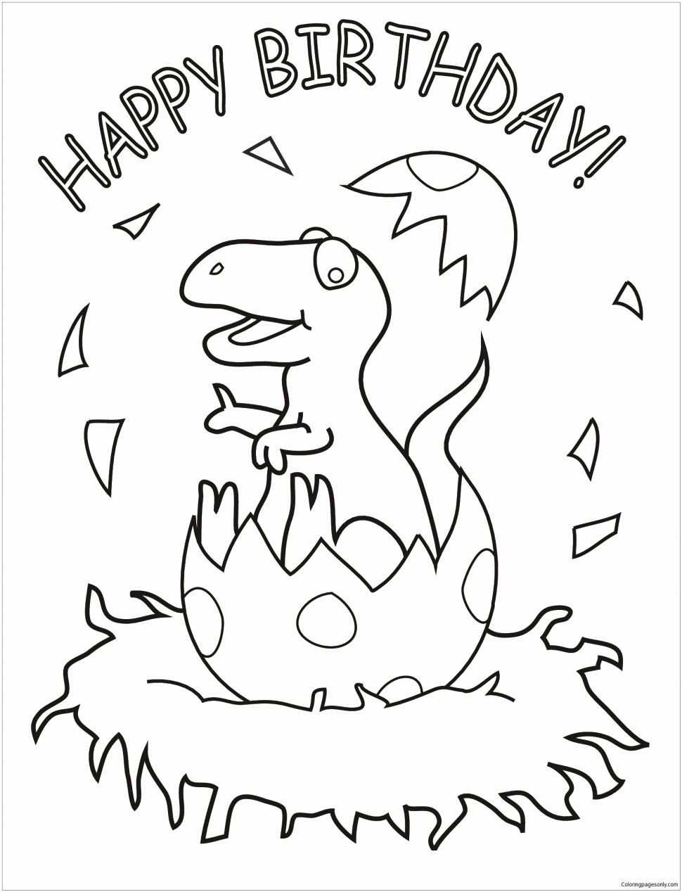 Die Hard Coloring Book Best Of Coloring Books Dinosaur To Color Ninjago Coloring In 2020 Dinosaur Coloring Pages Happy Birthday Coloring Pages Birthday Coloring Pages