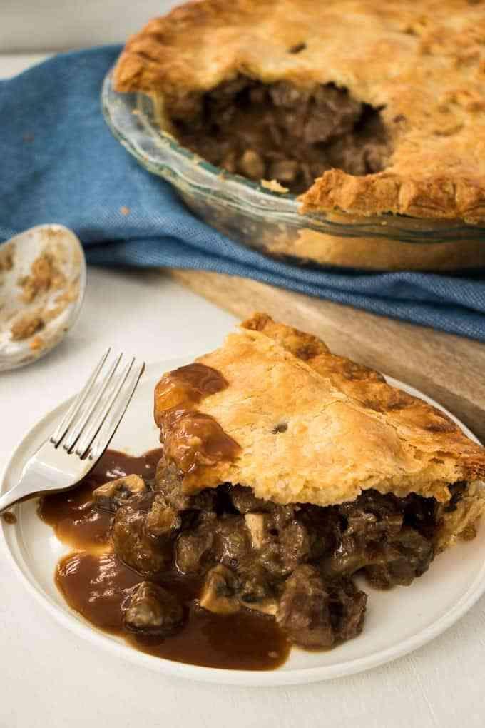 Steak and Mushroom Pie | Recipe | Steak and mushrooms ...