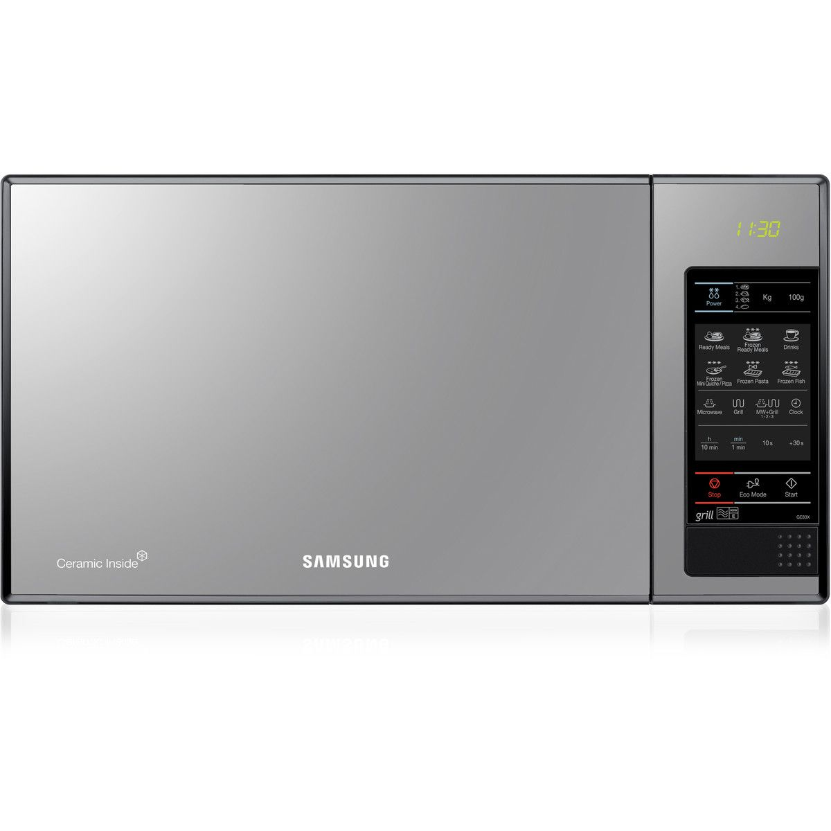 Lowes Countertop Microwaves Cuptor Cu Microunde Samsung Ge83x 23 L 800 W Grill Negru