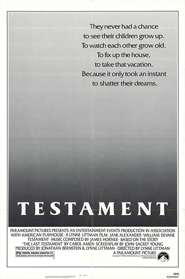 ''The Last Testament'', 1983, USA