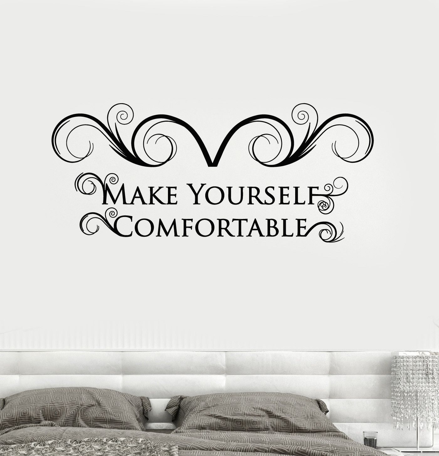 Vinyl Wall Decal Quote House Interior Room Decor Stickers Mural (ig4339)